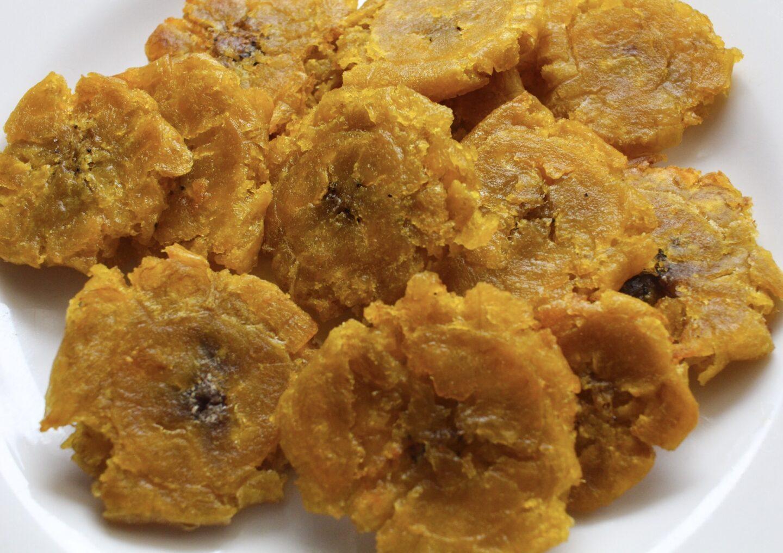 Fried Haitian Green Plantain Recipe - Pegz Cooks